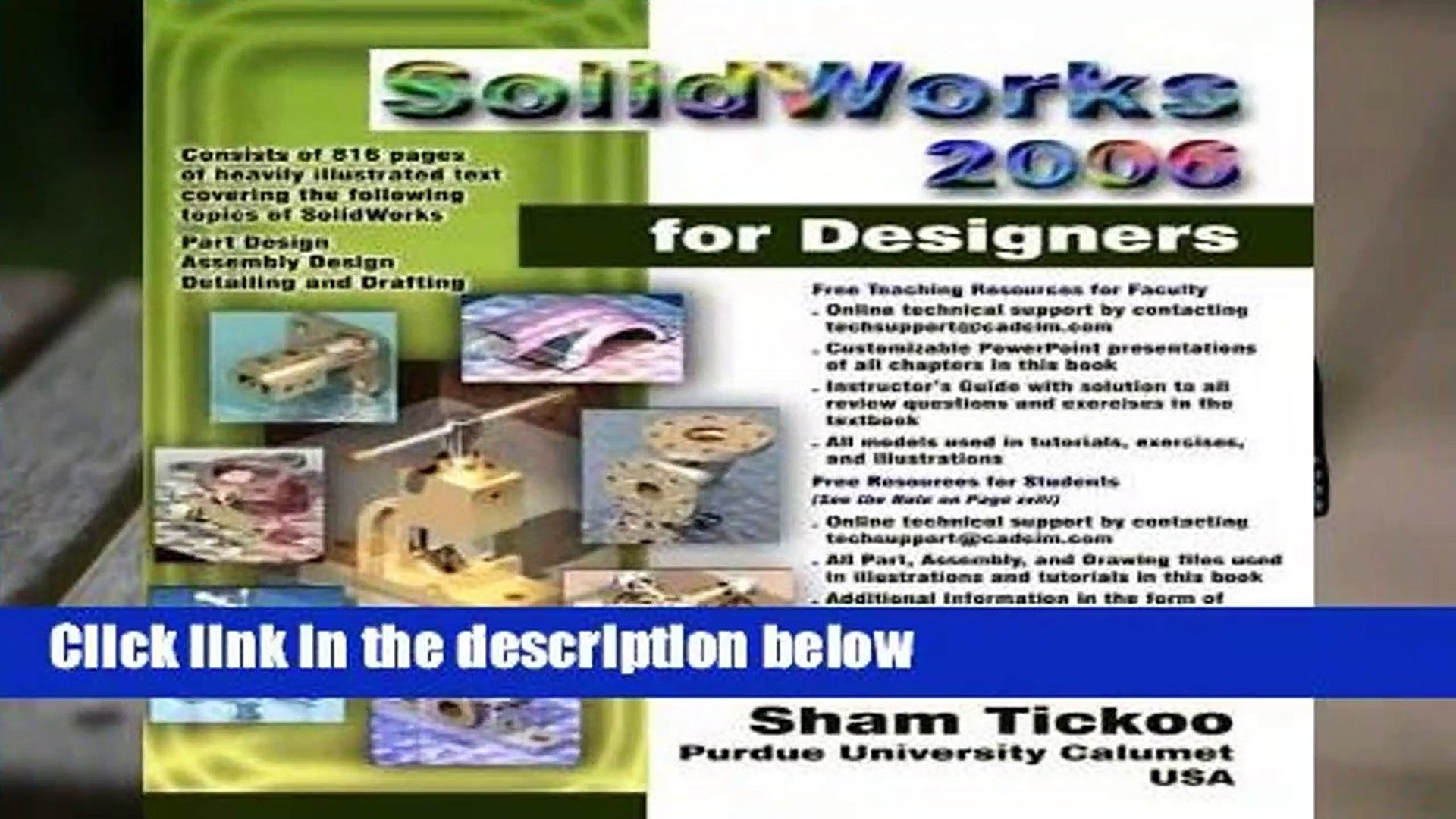 SolidWorks For Designers Release 2006 Complete