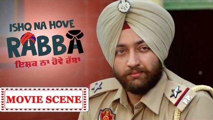 Asli Police | Ishq Na Hove Rabba | Latest Punjabi Comedy Movie Scene | Navjeet, Youngveer