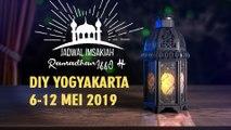 Jadwal Imsakiah DIY Yogyakarta 6-12 Mei 2019
