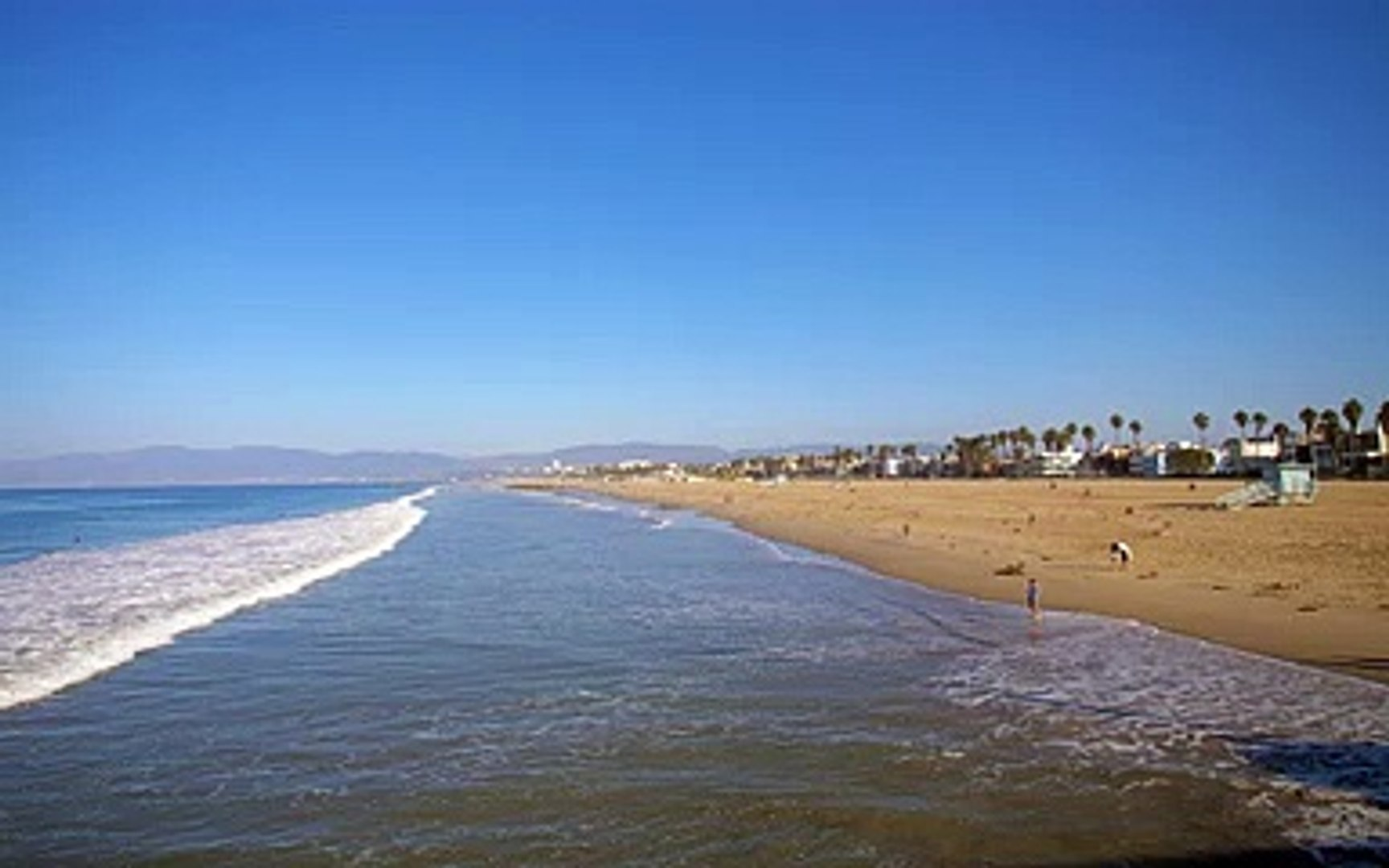 Waves on Venice Beach LA 久保田雅一郎
