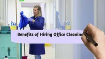 Benefits of Hiring Office Cleaning Services Company