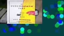 About For Books  The Psychopath Test: A Journey Through the Madness Industry  Best Sellers Rank : #4