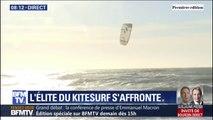 Les champions de kitesurf s'affrontent aujourd'hui à Leucate