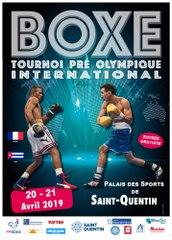 France vs Cuba 2019 - Boxe olympique Elite hommes - Palais des Sports de Saint Quentin
