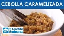 Receta de cebolla caramelizada fácil y casera | QueApetito