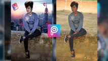 Photo editing is picsart    background change in picsart    Photo Editing in Android mobile    JD EDIT