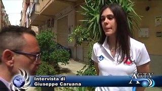 Talenti agrigentini. Martina l'atleta che sogna di potersi esprimere nella propria terra. News Agrigentotv