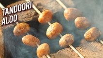 Aloo Tikka - Tandoori Aloo Recipe - Perfect Tandoori Aloo Tikka - Tandoori Potatoes - Varun