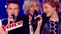 Simon & Garfunkel – Mrs Robinson | Louane, Loïs Silvin &Louis Bertignac| The Voice 2013 |Demi-Finale