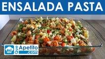 Receta de ensalada de pasta fácil y casera | QueApetito