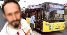 Metrobüste, Kadını Taciz Edip Cinsel Organını Dışarı Çıkaran Sapığı