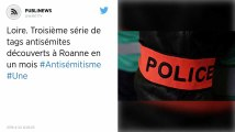 Loire. Troisième série de tags antisémites découverts à Roanne en un mois