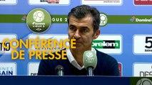 Conférence de presse ESTAC Troyes - Red Star  FC (2-0) : Rui ALMEIDA (ESTAC) -  (RED) - 2018/2019