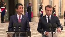Déclaration avec Shinzo Abe, Premier ministre du Japon