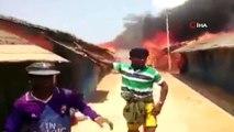 - Arakanlı Müslümanların yaşadığı kampta yangın- Kampta 30 ev yandı