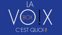 Une VO!X BOX, c'est quoi ?