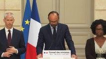 Conseil des ministres consacré à la reconstruction de Notre-Dame de Paris
