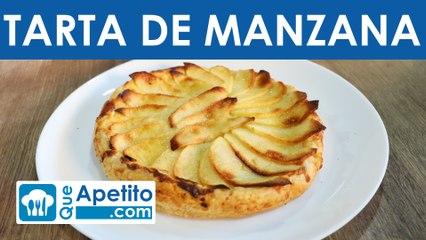 Receta de tarta de manzana fácil y casera | QueApetito