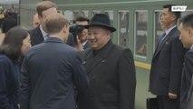 Kim Jong-un arrives in Vladivostok ahead of summit with Putin