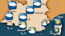 Météo en Provence : un temps pluvieux et venteux