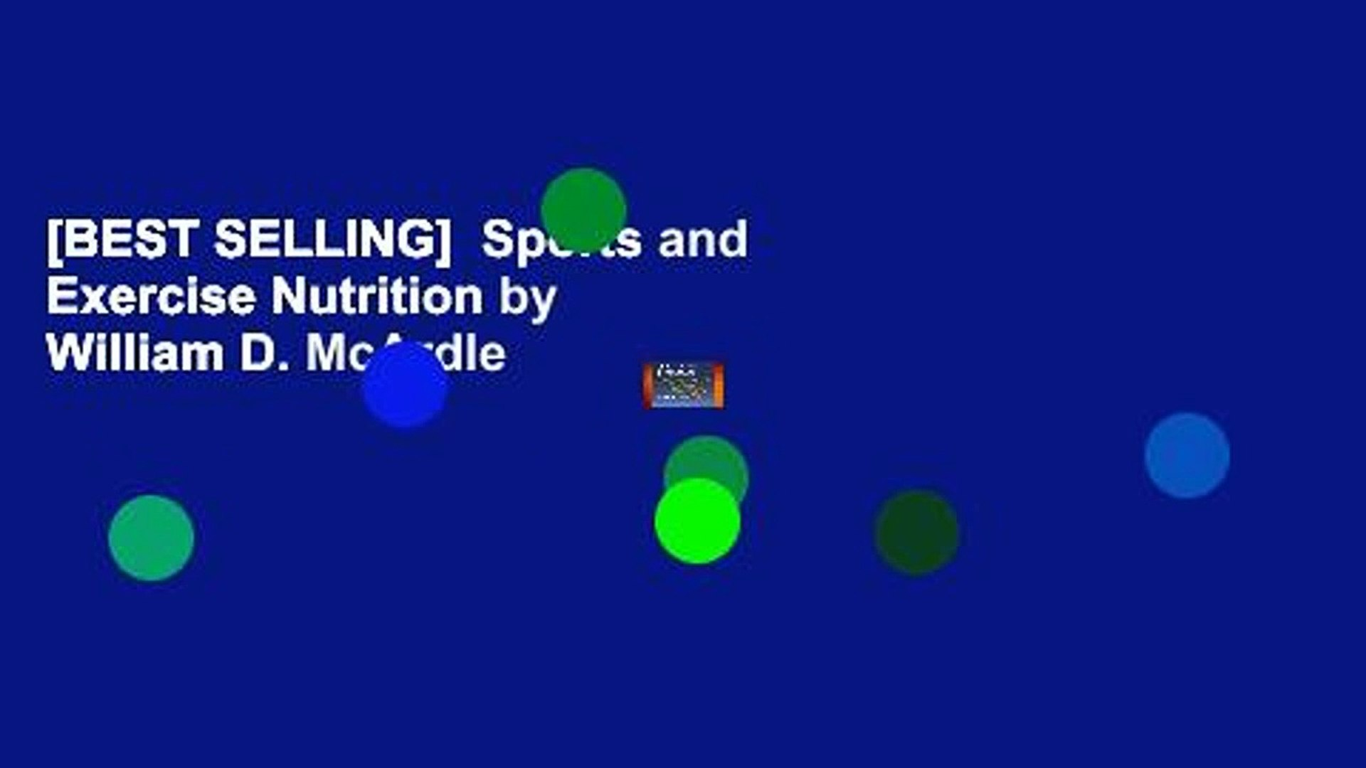 Best Selling Sports And Exercise Nutrition By William D Mcardle Video Dailymotion