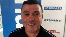 Tirage Coupe du Rhône – Jacques KALA (FC Bords de Saône) réagit après le tirage des DEMIES de la coupe Féminine