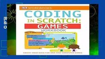 [BEST SELLING]  DK Workbooks: Coding in Scratch: Games Workbook: Create Your Own Fun and Easy