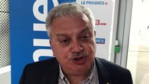 Tirage Coupe du Rhône – Pascal PARENT (District L&R) réagit après le tirage des QUARTS