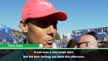 Nadal admits he wasn't at his best after first set scare