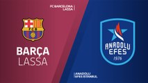 FC Barcelona Lassa - Anadolu Efes Istanbul Highlights | Turkish Airlines EuroLeague PO Game 3