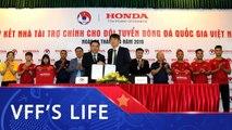 Honda Việt Nam trở thành Nhà tài trợ chính cho các Đội tuyển bóng đá Quốc gia Việt Nam | VFF Channel