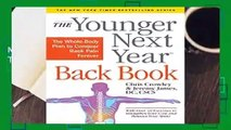 [NEW RELEASES]  Younger Next Year Back Book, The by Chris Crowley