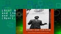 [BEST SELLING]  Sport and the Law: Historical and Cultural Intersections (Sport, culture, and
