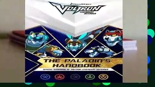 Popular The Paladin's Handbook: Official Guidebook of Voltron Legendary Defender - R.J. Cregg