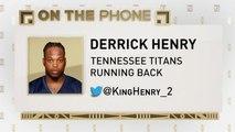 The Jim Rome Show: Derrick Henry talks NFL Draft experiences