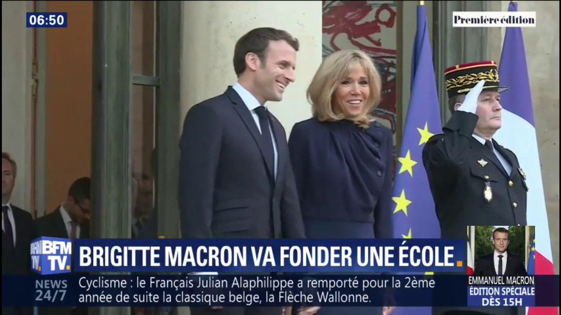 Brigitte Macron enseignera à nouveau le français dans une école pour adultes en difficulté