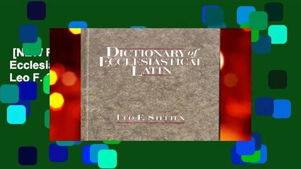 Ecclesiastical Latin Resource   Learn About, Share and