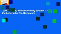 [GIFT IDEAS] Topical Memory System (Living the Letters) by The Navigators