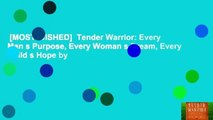 [MOST WISHED]  Tender Warrior: Every Man s Purpose, Every Woman s Dream, Every Child s Hope by