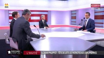 Florian Philippot - Public Sénat jeudi 25 avril 2019