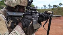 U.S. Infantry Soldiers Qualify With Small Weapons