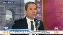 """""""Repenser le travail"""" devrait être """"la priorité du chef de l'État"""" pour Benoît Hamon"""
