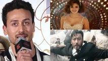 Bharat: Tiger Shrof gives this reaction for Jackie Shroff & Disha Patani on Bharat | FilmiBeat