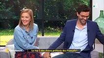 """Dans """"La quotidienne"""" sur France 5, une chiot perturbe le direct et mange la robe de Maya Lauqué - Regardez"""