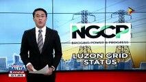 Luzon grid, muling isinailalim sa yellow at red alert status