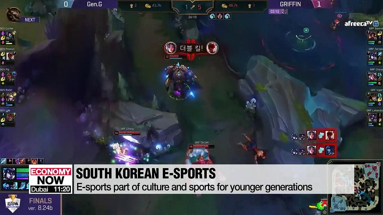 South Korean e-sports going global