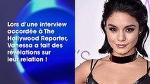 Vanessa Hudgens fait des révélations sur sa relation passée avec Zac Efron