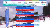FFS TV - Les Arcs - Finales Coupe d'Argent - Slalom Parallèle U14 - 14.04.2019 - Replay