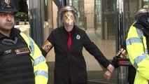 Climate change activists target London Stock Exchange