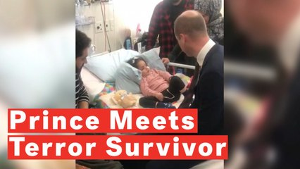Prince William Meets Terror Attack Survivor